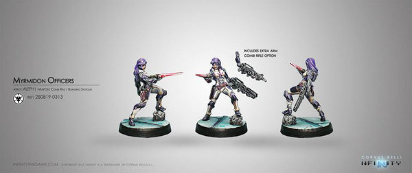 Aleph Myrmidon Officer (Combi Rifle, Boarding Shotgun) Blister Pack
