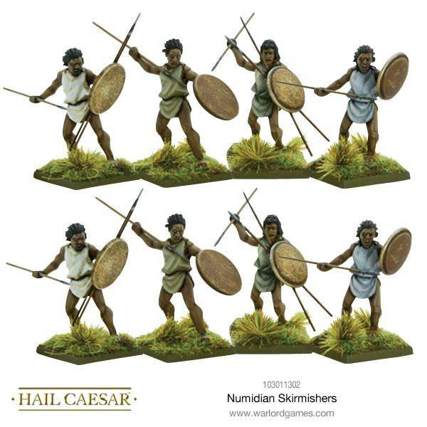 Early Imperial Romans Numidian Skirmishers Box Set