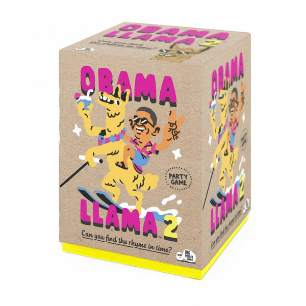 Obama Llama 2 Family Party Game