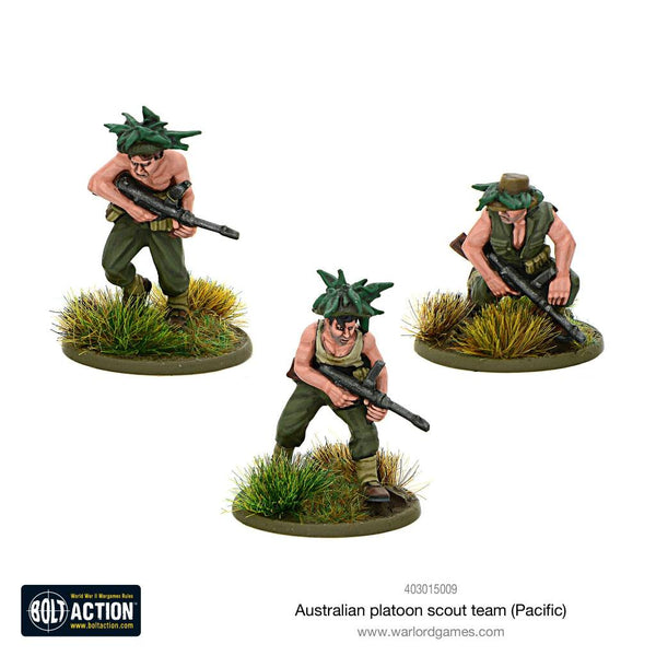 Bolt Action: Australian Platoon Scout Team (Pacific) Blister Pack