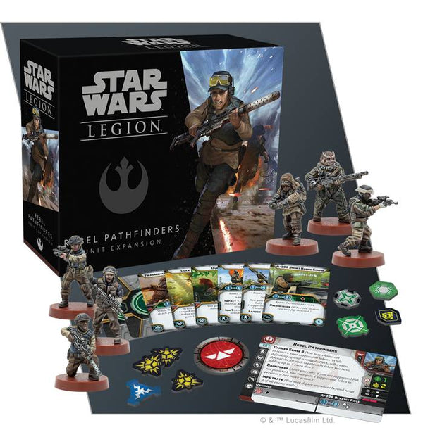 Star Wars: Legion Rebel Pathfinders Expansion