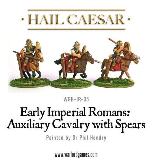 Early Imperial Roman Auxiliary Cavalry With Spears Pack
