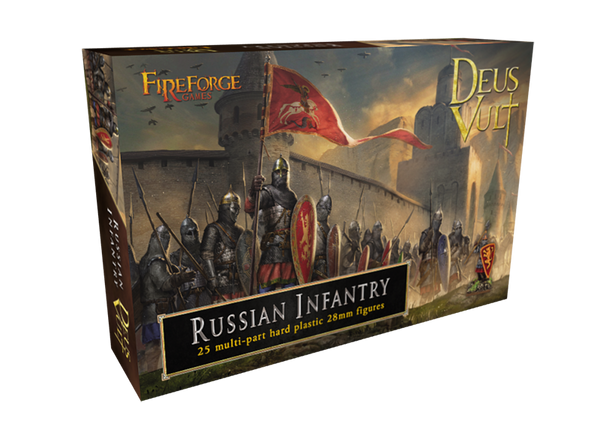 Medieval Russian Infantry - Fireforge Historical