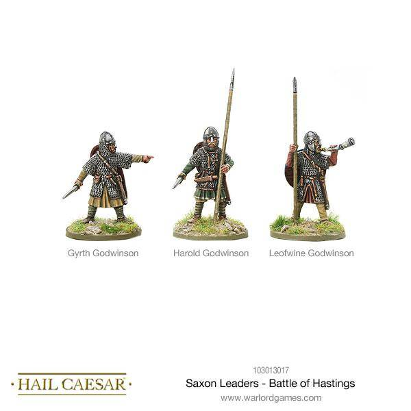 The Dark Ages Saxon Leaders - Battle Of Hastings Pack