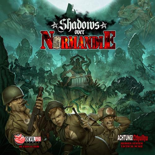 Shadows Over Normandie Boardgame -
