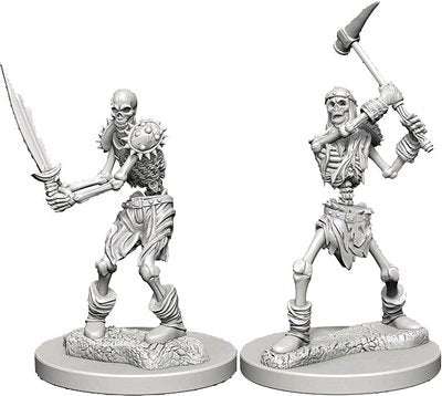 Nolzur's Marvelous Miniatures: Skeletons Blister Pack (Wave 1)