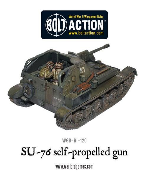 Soviet SU-76 Self Propelled Gun