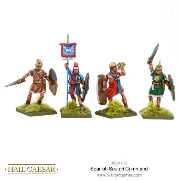 Spanish Scutarii Command - Hail Caesar