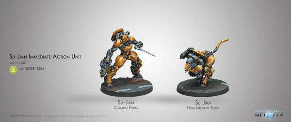 Yu Jing Su-Jian Immediate Action Unit Box Set