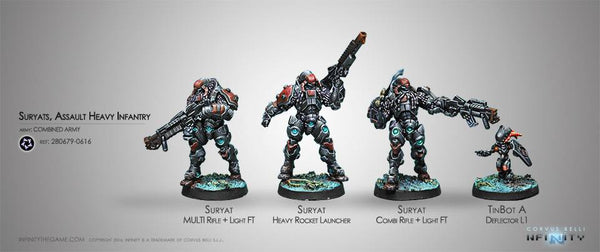 Infinity Suryats, Assault Heavy Infantry - Combined Army