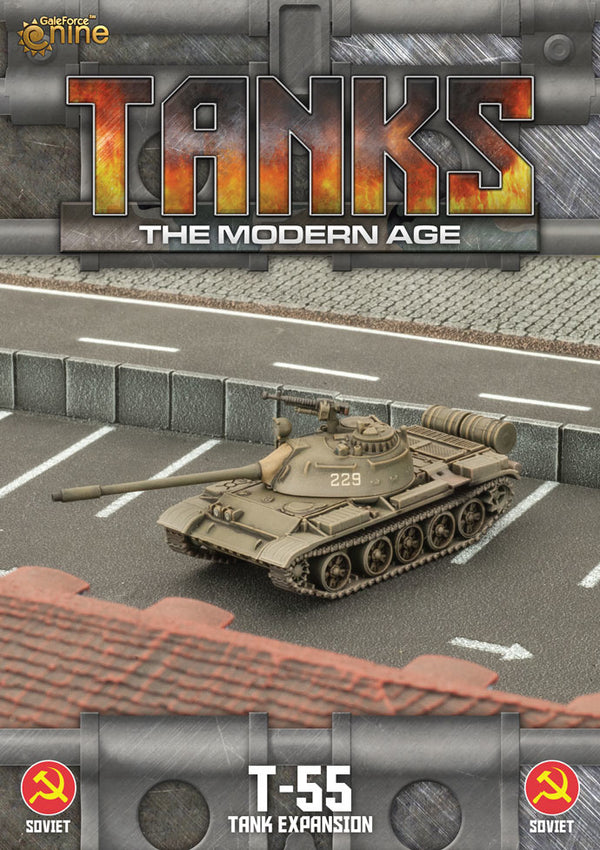 Modern Age: Soviet T-55/T-55am2 Tank Expansion