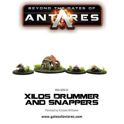Gates Of Antares Xilos Snapper and Drummer