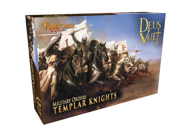 Templar Knights Cavalry - Fireforge Historical