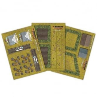 TANKS Terrain Pack (6 Sheets)