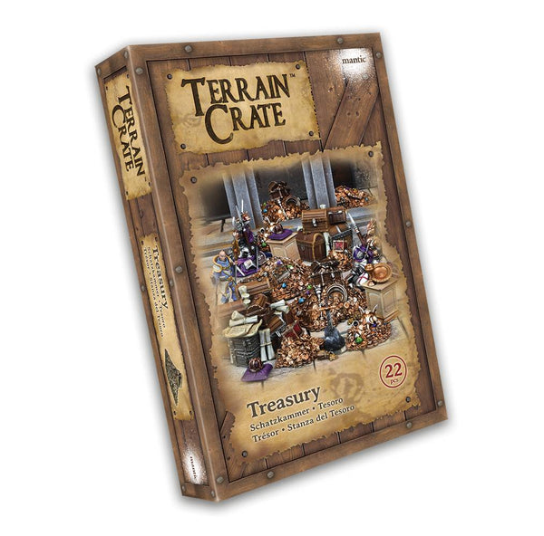 Terrain Crate: Treasury Plastic Scenery Box Set