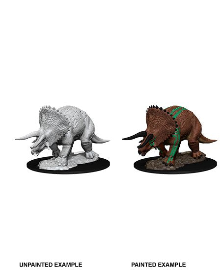Nolzur's Marvelous Miniatures: Triceratops (Wave 7)