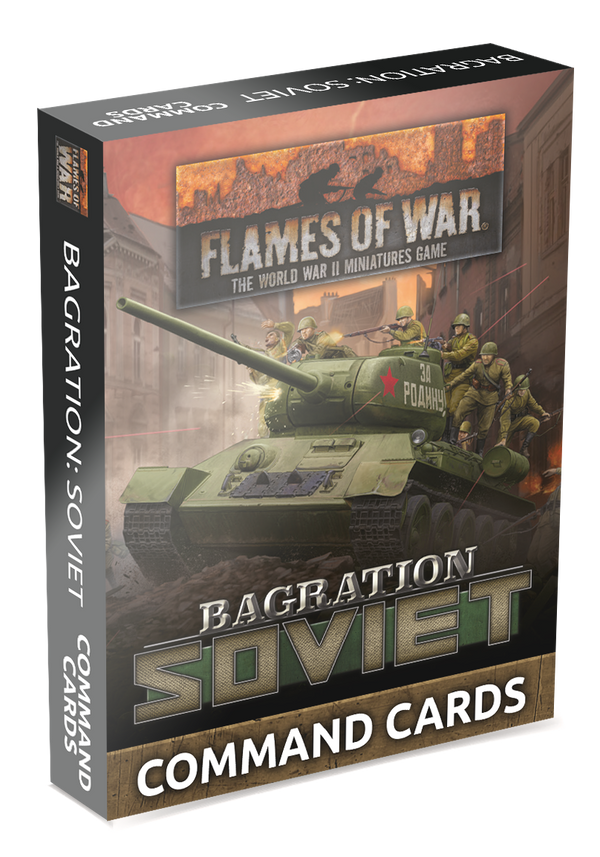 Bagration: Soviet Command Cards - Late War