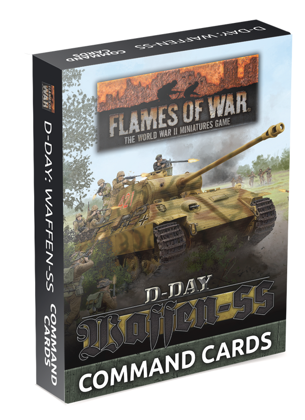 Waffen-SS Command Card Pack