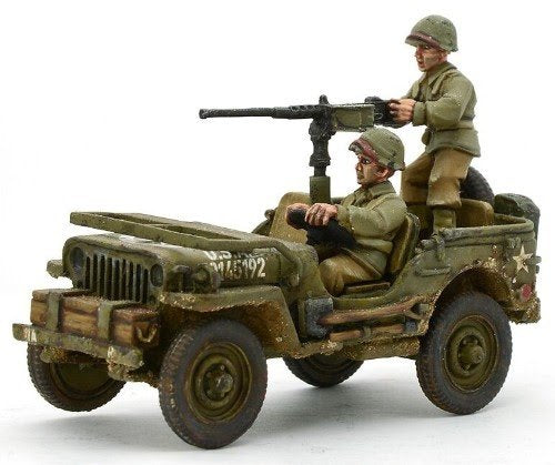 US Army Jeep with 50 Cal HMG