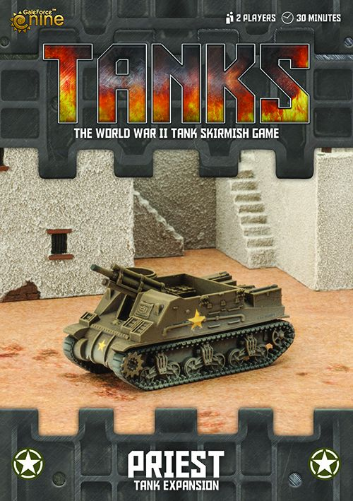 US Priest Tank Expansion