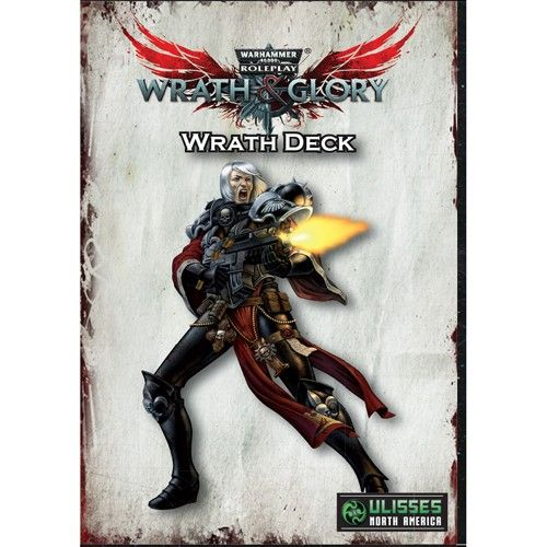 Warhammer 40k: Wrath & Glory Wrath Deck