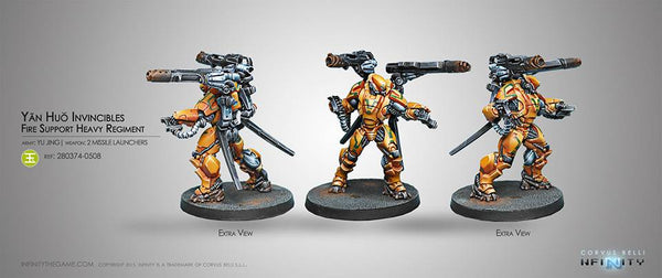 Yu Jing Yan Huo Invincibles (2 Missile Launchers) Blister Pack