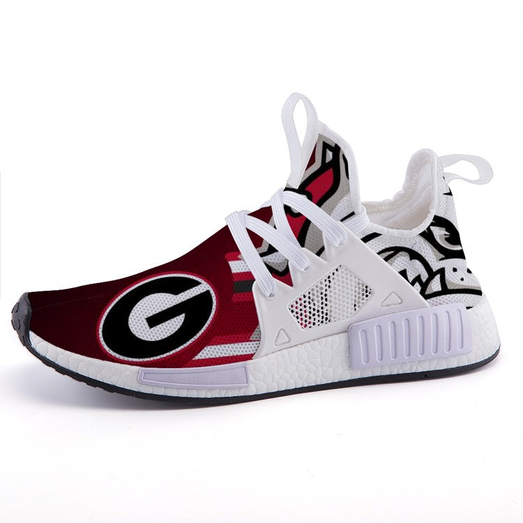d025561daff2 Georgia Bulldogs Sports Shoes - Fan Made Club