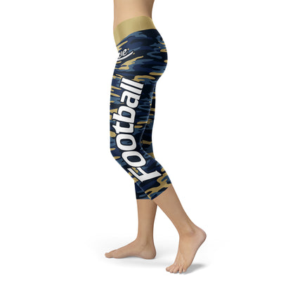 Los Angeles Rams Football Camo Capris