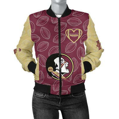 Florida State Seminoles Bomber Jacket -  Women's