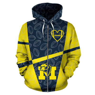 Michigan Wolverines Zip-Up Hoodie