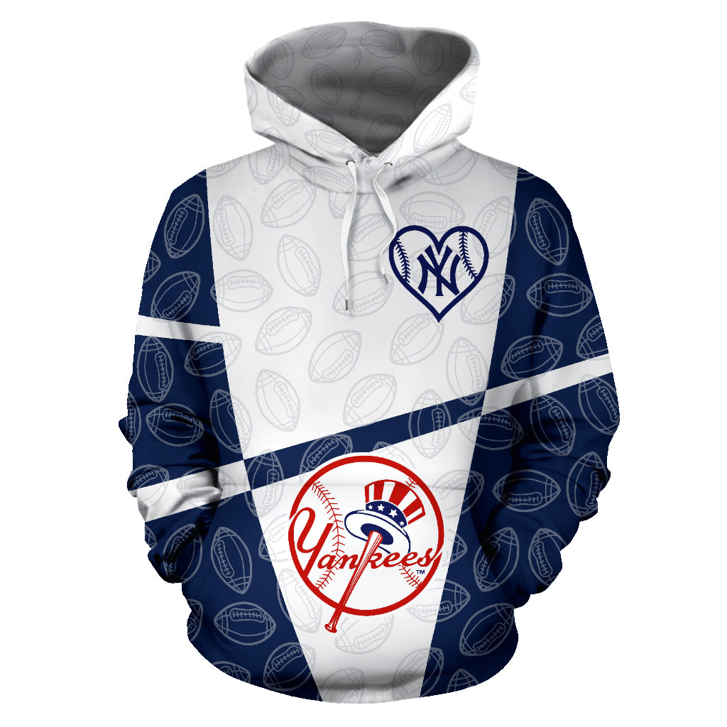 new styles a1711 f9794 New York Yankees Pullover Hoodie