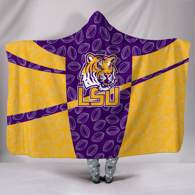 LSU Tigers Hooded Blanket