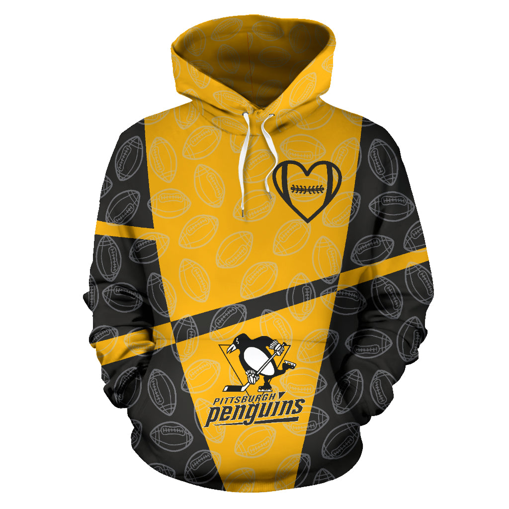 new product 9a979 60dcc Pittsburgh Penguins Pullover Hoodie - Fan Made Club