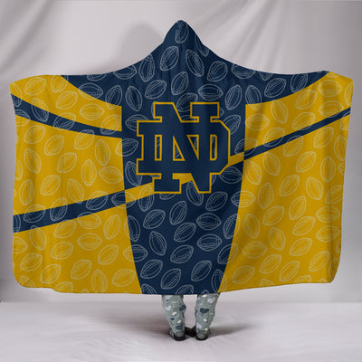 Notre Dame Fighting Irish Hooded Blanket