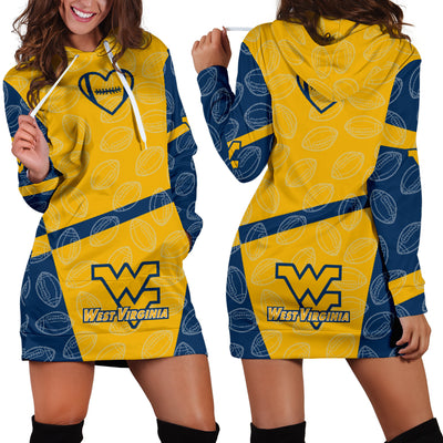 WV Mountaineers Hoodie Dress