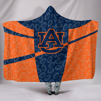 Auburn Tigers Hooded Blanket