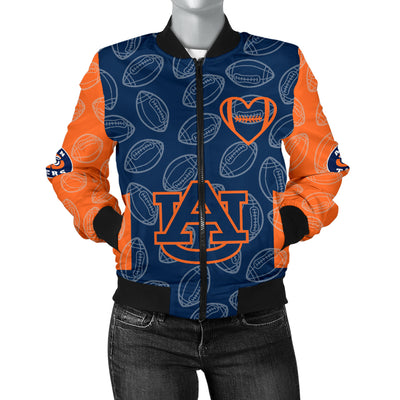 Auburn Tigers Bomber Jacket - Women's