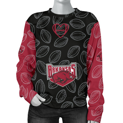 Arkansas Razorbacks Sweater - Women's