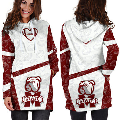 Mississippi State Bulldogs Hoodie Dress