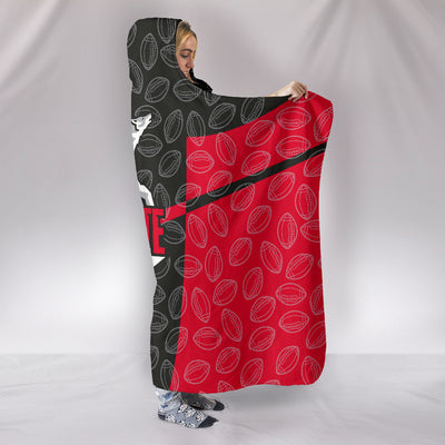 NC State Wolfpack Hooded Blanket