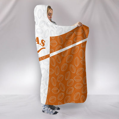 Texas Longhorns Hooded Blanket