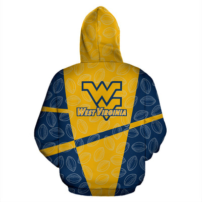 WV Mountaineers Zip-Up Hoodie