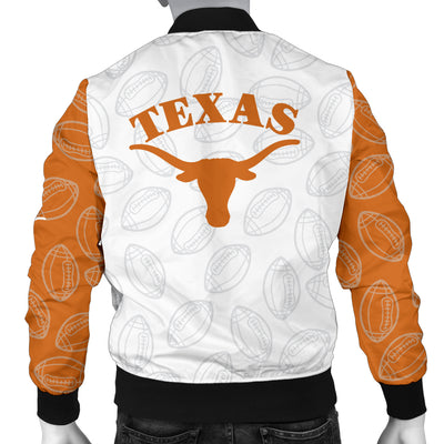 Texas Longhorns Bomber Jacket - Men's