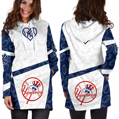 New York Yankees Hoodie Dress