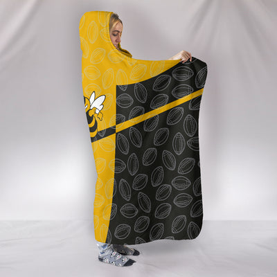 Georgia Tech Hooded Blanket
