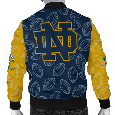 Notre Dame Fighting Irish Bomber Jacket - Men's