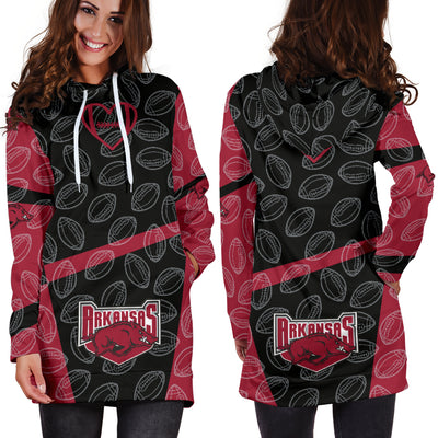 Arkansas Razorbacks Hoodie Dress