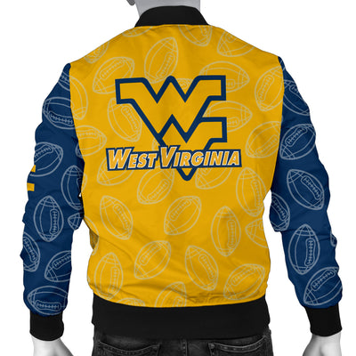 WV Mountaineers Bomber Jacket - Men's