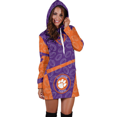 Clemson Tigers Hoodie Dress