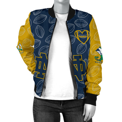 Notre Dame Fighting Irish Bomber Jacket - Women's